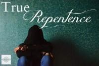 True Repentence