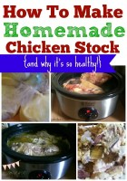 How To Make Homemade Chicken Stock {and why it's so healthy}