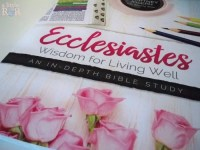 Join Good Morning Girls this summer as we embark on this in-depth Bible study through the Book of Ecclesiastes!!