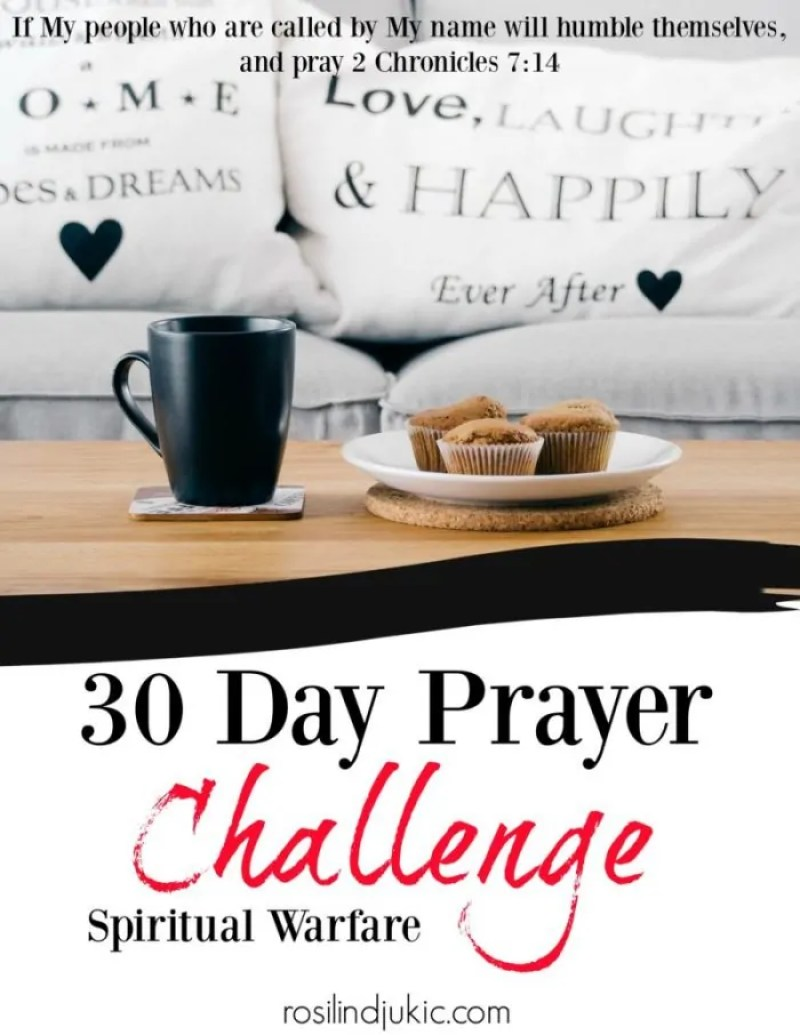 Join the 30 Day Prayer Challenge on Spiritual Warfare today! Click here to find out how you can download your copy today!