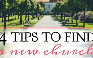 4 Tips To Find a Church + Printable Checklist