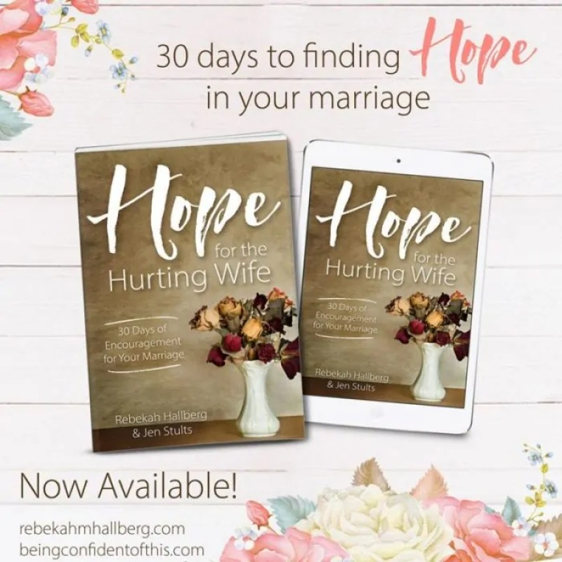 When marriage isn't what you dreamed it would be, you can either live in despair, dream a way out, or you can find hope as a hurting wife.
