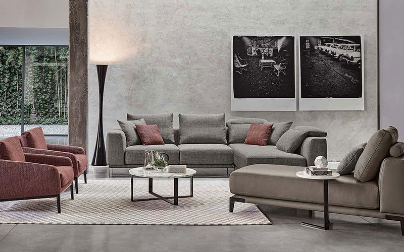 I divani su misura in tessuto di ROSINI DIVANI