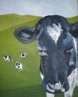 The Inquisitive Cow