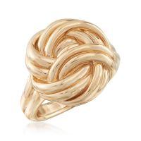 14kt Yellow Gold Knot Ring   Ross Simons