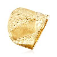 Italian 14kt Yellow Gold Ring   Ross Simons