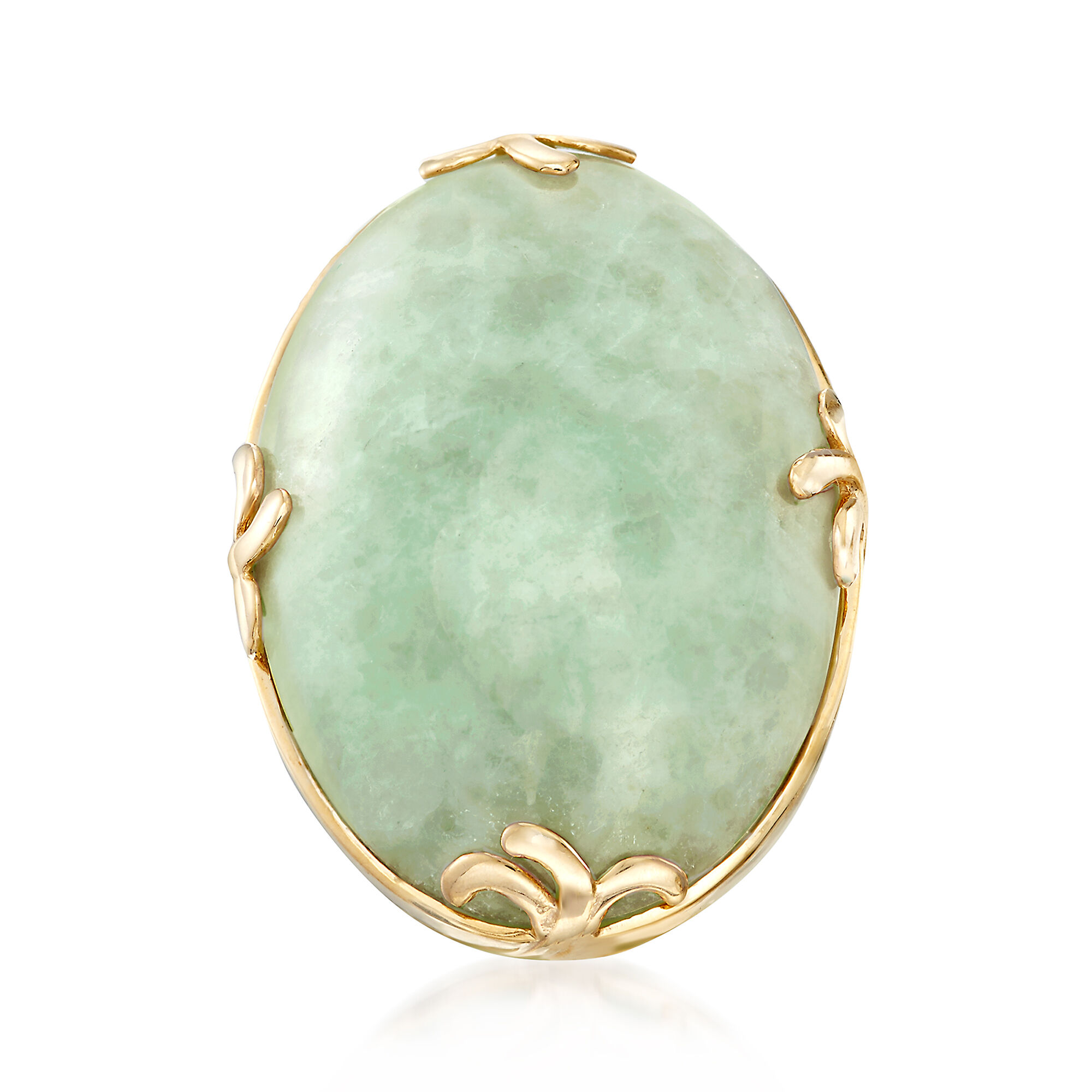 Cabochon Jade Ring in 18kt Gold Over Sterling  RossSimons