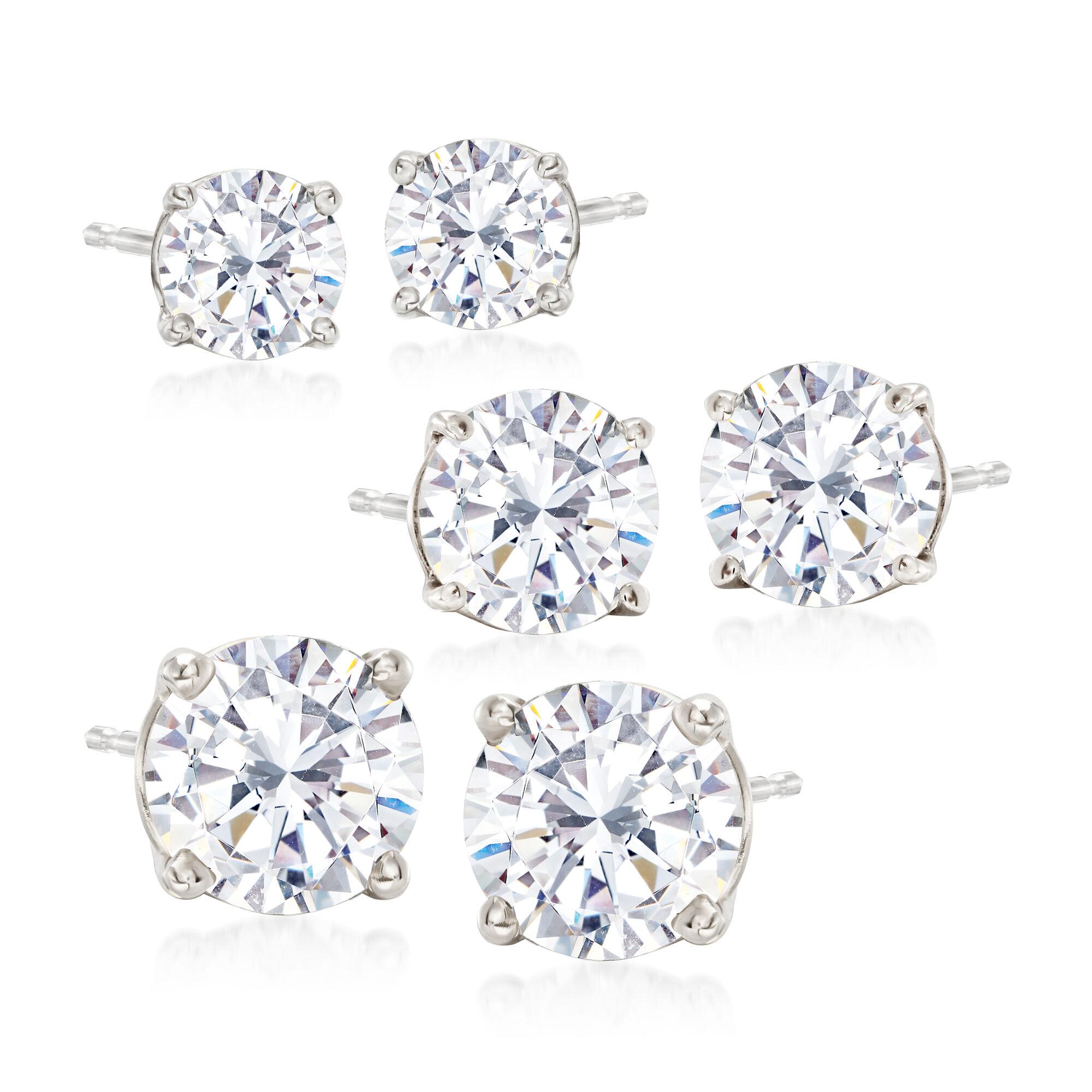 cubic zirconia earrings cz