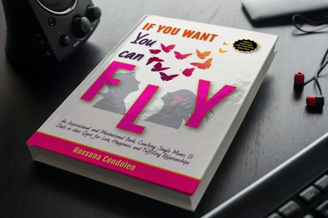 Single parent reading If You Want You Can Fly by Rossana Condoleo