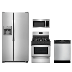 Frigidaire Kitchen Package Refrigerator Small 4 Piece Stainless Steel Frkitffgf3052ts Appliances Monroeville Pa 15146 And North Huntingdon 15642