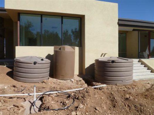 Office rainwater tanks 2