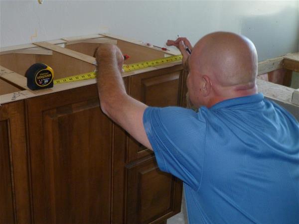 George measuring