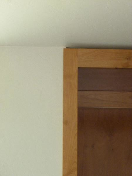 Bookcase trim