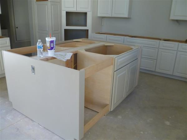 Kitchen before floor painting