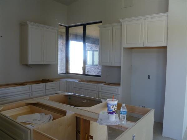 Kitchen, northeast corner