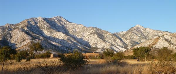 Miller and Carr Peaks