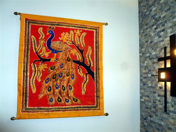 Peacock batik
