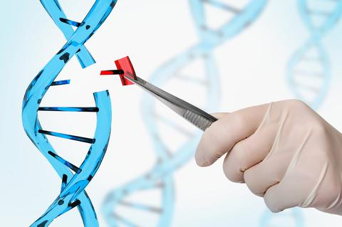 Replacing a gene