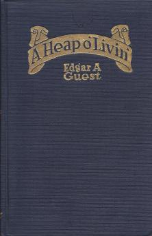 """A Heap o' Livin'"" book cover"
