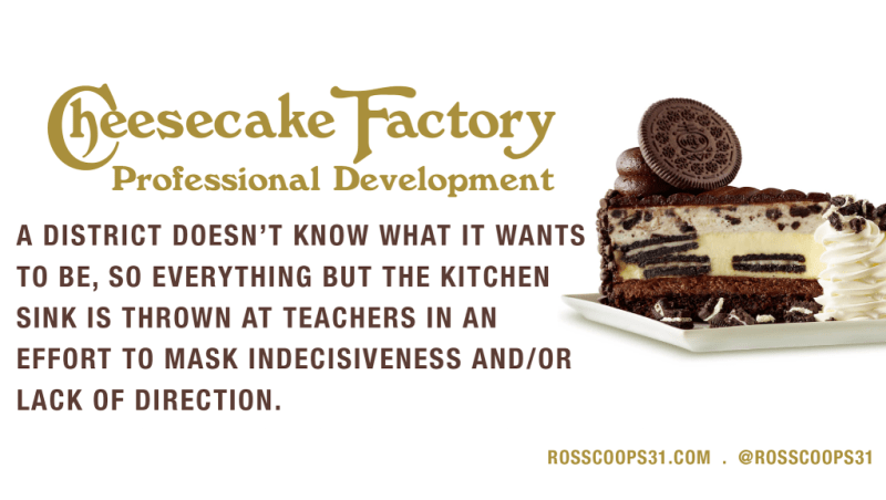 Cheesecake Factory Professional Development
