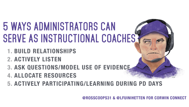 5 Ways Administrators Can Serve as Instructional Coaches
