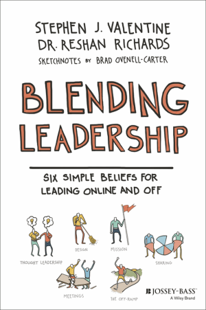 Book Review, Blending Leadership