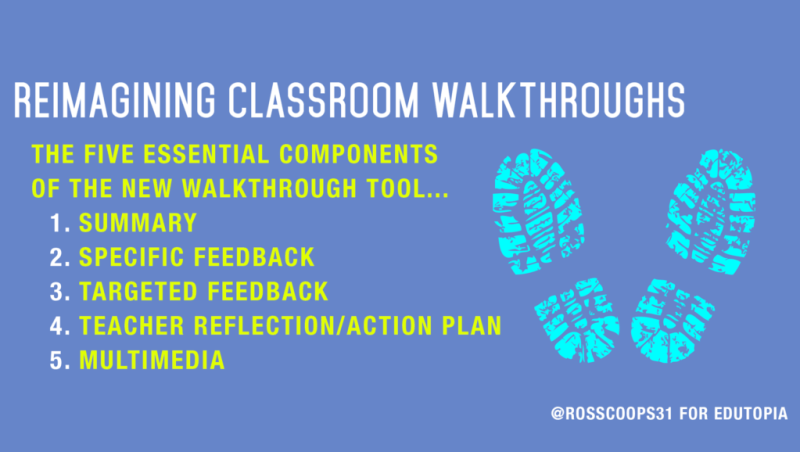 Reimagining Classroom Walkthroughs