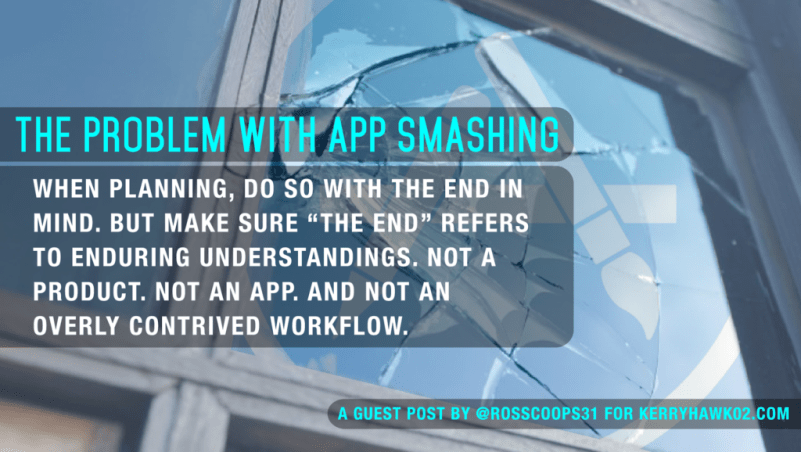 The Problem with App Smashing