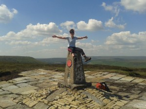 Walking and Hiking (and getting lost) in the Peak District