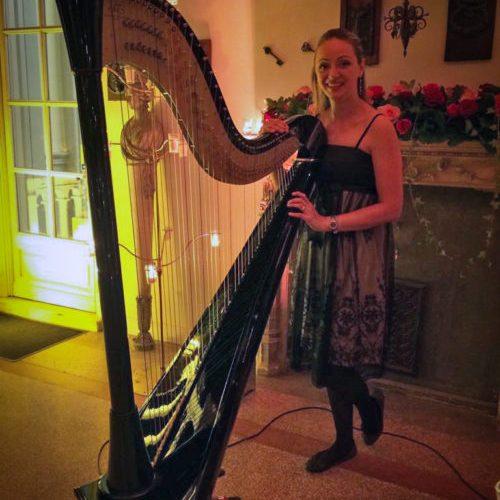 soiree privee harpiste musique cote azur nice cannes Milevska Rossitza