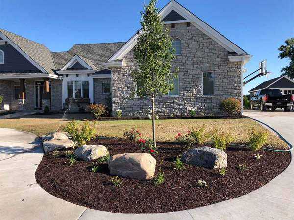 landscaping ideas construction