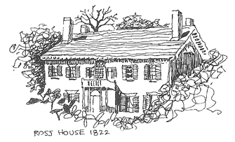 W.D. Ross House, Essex, NY (c.1822)