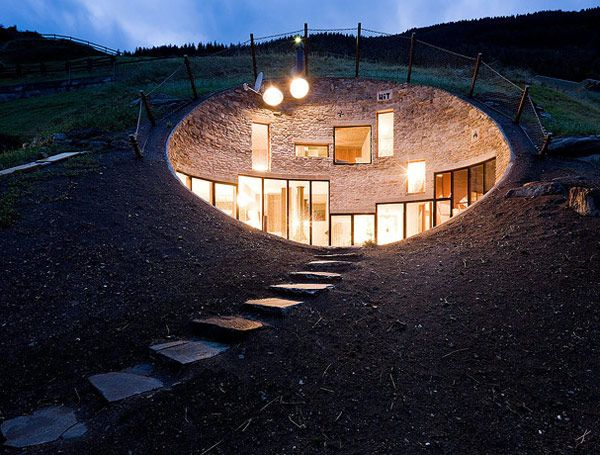 Underground Residence in Switzerland