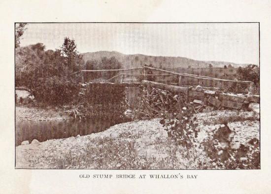 Old Stump Bridge at Whallons Bay
