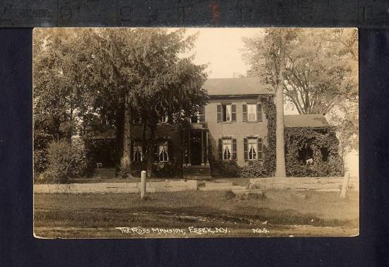 The Ross Mansion, Essex, New York, circa 1910