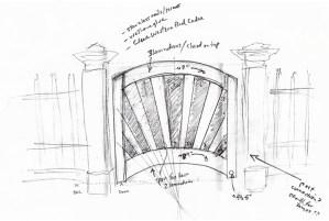 Tom Duca's Gate Drawing
