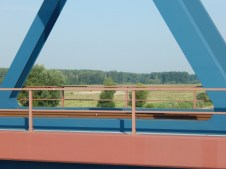 Das Hinterland vom Damm zwischen Fischerdorf und Natternberg-Siedlung