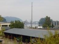 Blick in den Deggendorfer Hafen