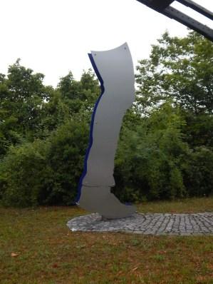 Skulptur an der Maximiliansbrücke