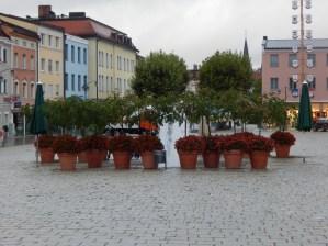 Der Brunnen am Oberen Stadtplatz