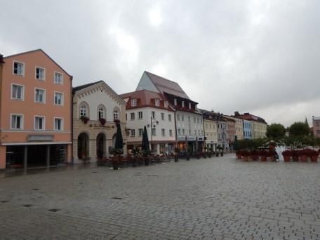 Ein Blick über den Oberen Stadtplatz