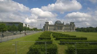 Stadtrundfahrt - Reichstag
