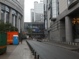Europäisches Viertel in Brüssel