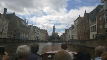 Bootstour in der Altstadt von Brügge