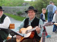 Gitarrist Gebhard Schöffmann
