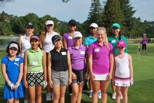 July 2, 2015 First Tee Girls Play Day