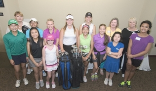 First Tee Girls Play Day  July 2, 2015