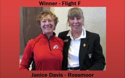 Janice Davis wins first in her flight at Champion of Champions