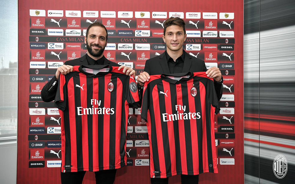 Scaroni Signing a star like Higuain is an important step