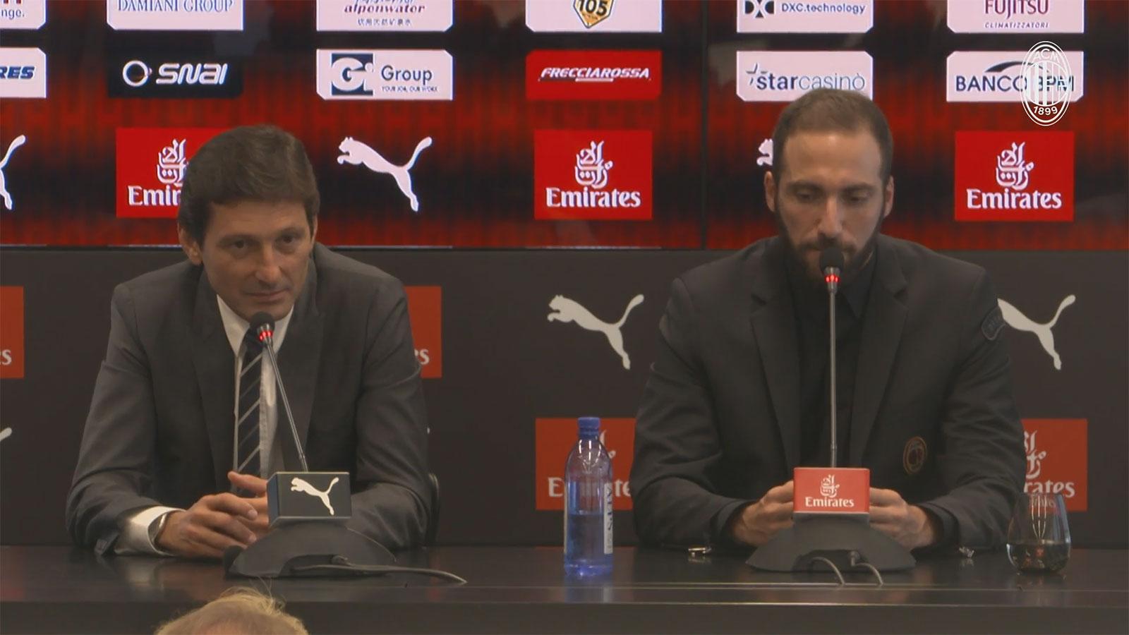 Leonardo Having a player like Higuain increases Milans